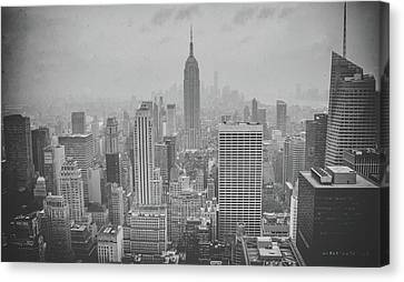 Vintage River Scenes Canvas Print - Empire State by Martin Newman