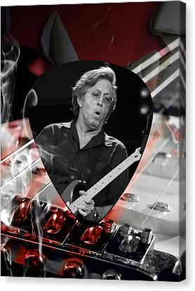 Cream Canvas Print - Eric Clapton Art by Marvin Blaine