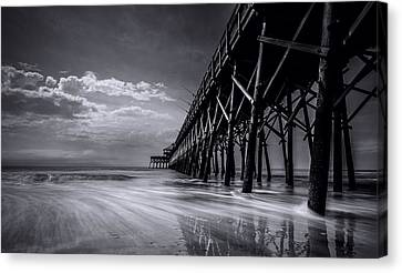 Folly Beach Canvas Print