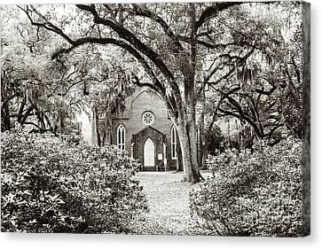 Grace Episcopal Church Canvas Print by Scott Pellegrin