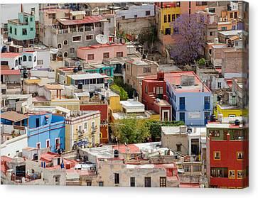 Guanajuato, Mexico. Canvas Print by Rob Huntley