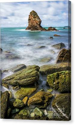 Canvas Print featuring the photograph Gwenfaens Pillar by Ian Mitchell