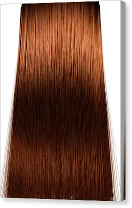 Hair Perfect Straight Canvas Print by Allan Swart
