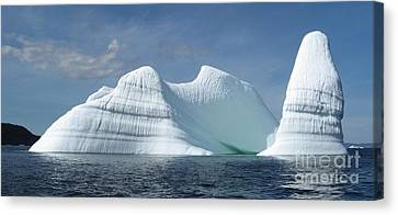 Iceberg Canvas Print by Seon-Jeong Kim