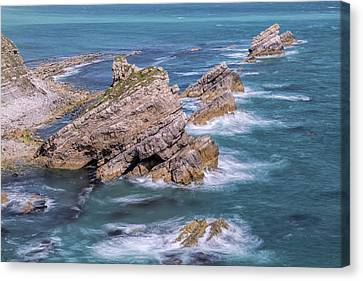Jurassic Coast - England Canvas Print