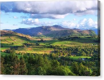 Keswick - Lake District Canvas Print by Joana Kruse