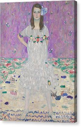 Mada Primavesi Canvas Print by Gustav Klimt