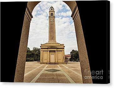 Memorial Tower - Lsu Canvas Print by Scott Pellegrin