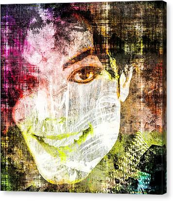Michael Jackson Canvas Print by Svelby Art