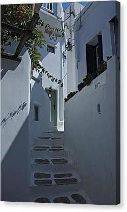 Mykonos Greece Canvas Print by Cendrine Marrouat