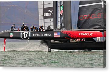 Oracle At The Gate Canvas Print by Steven Lapkin