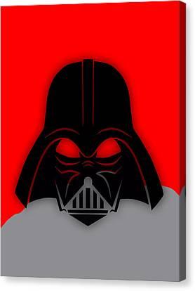 Star Wars Canvas Print - Star War Darth Vader Collection by Marvin Blaine