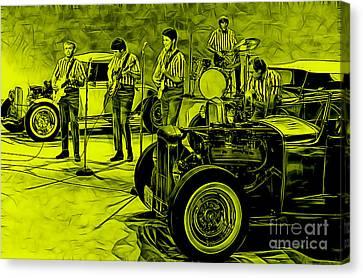 The Beach Boys Collection Canvas Print by Marvin Blaine