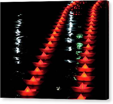 Canvas Print featuring the photograph The Colors Of The Voyage by Mark Dodd