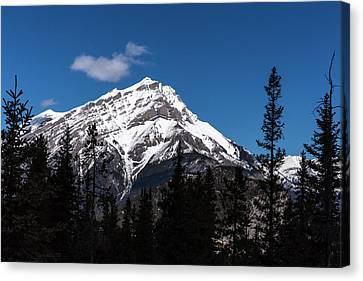 Canvas Print featuring the photograph The Rockies by Josef Pittner