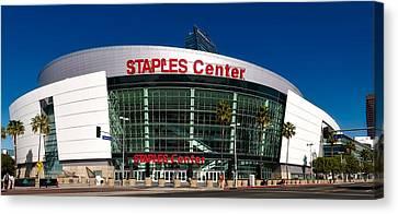 The Staples Center Canvas Print