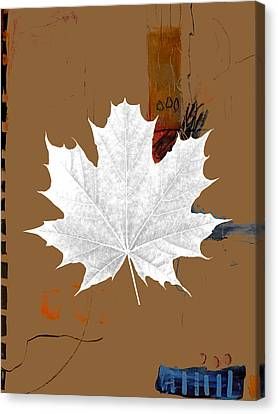 Tree Leaves Art Canvas Print by Marvin Blaine