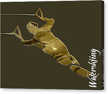 Waterski Collection Canvas Print by Marvin Blaine