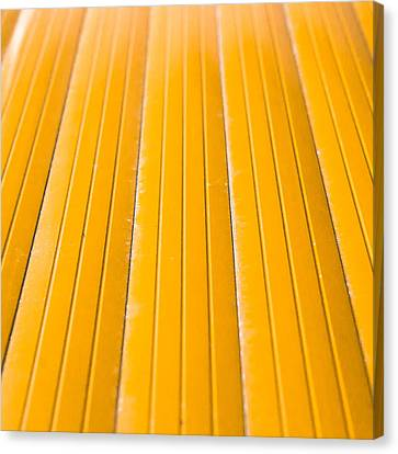 Yellow Metal Canvas Print