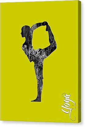 Meditation Art Canvas Print - Yoga Collection by Marvin Blaine