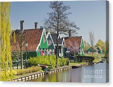 Zaanstad Canvas Print by Andre Goncalves