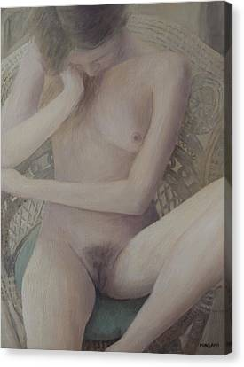 Nude Study Canvas Print