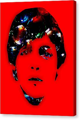 Paul Mccartney Collection Canvas Print by Marvin Blaine