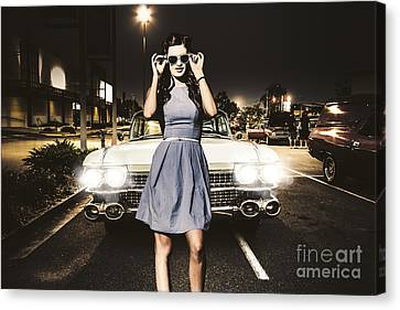 60s American Car Culture Canvas Print by Jorgo Photography - Wall Art Gallery