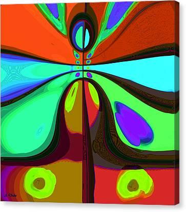 60s Free Love Canvas Print