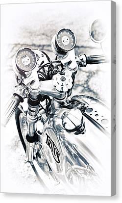 60s Triton Canvas Print