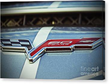 60th Anniversary Corvette Canvas Print