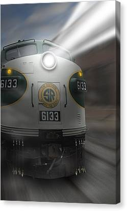 6133 On The Move Canvas Print by Mike McGlothlen