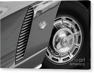 Canvas Print featuring the photograph '62 In Black And White by Dennis Hedberg