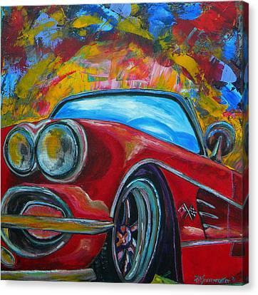 62 Vet Canvas Print by Patti Schermerhorn