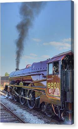 6201 Princess Elizabeth Canvas Print by David Birchall