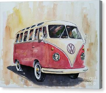 '63 V.w. Bus Canvas Print