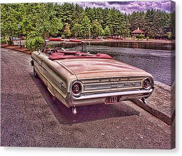 64 Ford Canvas Print by Paul Godin