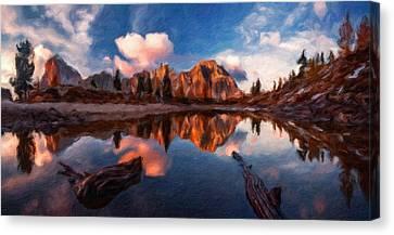 G H Landscape Canvas Print by Victoria Landscapes