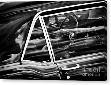 Canvas Print featuring the photograph 65 Mustang by Tim Gainey