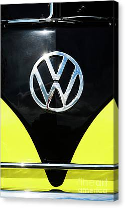 Volkswagon Canvas Print - 66 Kamper  by Tim Gainey