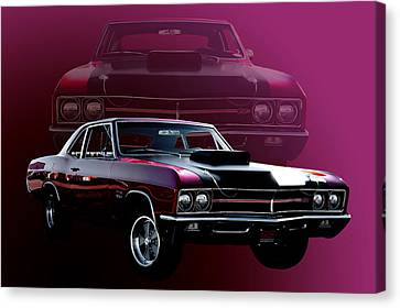 67 Buick Gs 400 Canvas Print by Jim  Hatch