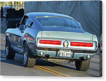 Canvas Print featuring the photograph 67 Shelby Gt500 by Bill Dutting
