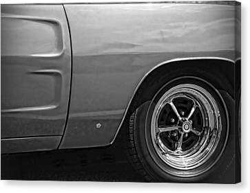 Gratiot Canvas Print - '68 Charger by Gordon Dean II