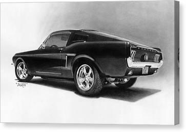 '68 Fast Back Canvas Print by Tim Dangaran
