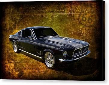 68 Fastback Canvas Print