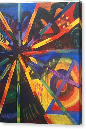 Today I Feeling Abstract Canvas Print