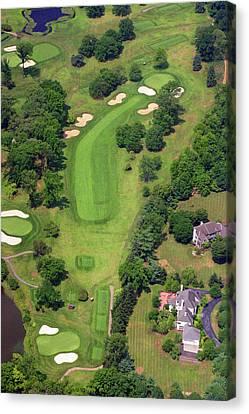 6th Hole Sunnybrook Golf Club 398 Stenton Avenue Plymouth Meeting Pa 19462 1243 Canvas Print by Duncan Pearson