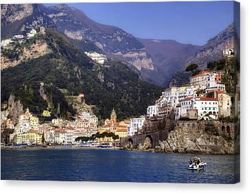 Amalfi - Amalfi Coast Canvas Print by Joana Kruse