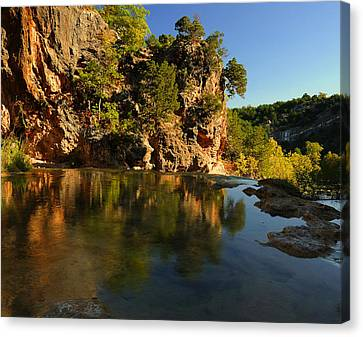 Arbuckle Mountains Canvas Print