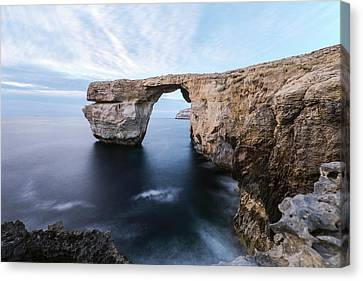 Maltese Canvas Print - Azure Window - Gozo by Joana Kruse